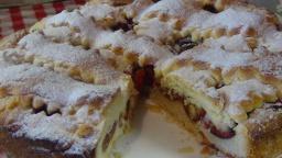 Безумно вкусный пирог со сливами | Рецепт Светланы Черновой