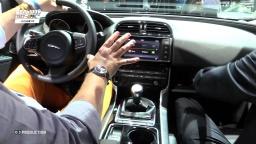 Jaguar XE - Большой тест-драйв - Парижский автосалон