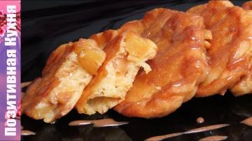 Люда Изи Кук Супер ОЛАДУШКИ с КАРАМЕЛЬНЫМИ ЯБЛОКАМИ на завтрак Идея для Вкусного ЗАВТРАКА