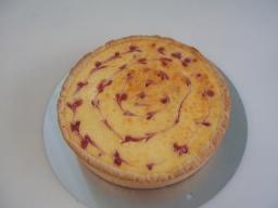 Творожный пирог с малиной | Рецепт Маринкины Творинки