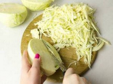 Как нарезать капусту тонкой соломкой 2 способа от шеф-повара Лазерсона