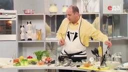 Сухарики, запечённые с сыром рецепт от шеф-повара /  Илья Лазерсон / Обед безбрачия