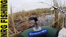 Рыбалка на крупного карася в секретном месте | Поклёвки с двух камер Видео