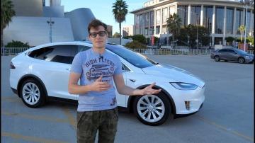 Сломалась в первый же день – Tesla Model X за 10 млн рублей! Тест-драйв и обзор