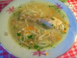 Суп куриный с домашней лапшой | Рецепт Светланы Черновой