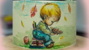 Как перенести рисунок на кремовый торт Я ТОРТодел