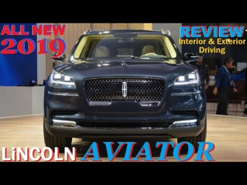 2019 Lincoln Aviator - REVIEW, Interior & Exterior and Drive Обзор Тест Драйв