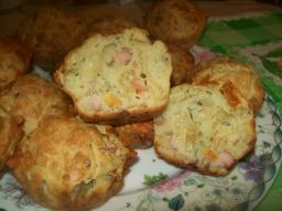 Закусочные кексики с ветчиной и сыром | Рецепт Светланы Черновой
