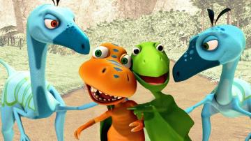 Поезд Динозавров Мультсериал | Быстрые друзья Развивающий мультик