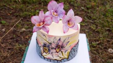Кайфую от оформления этого торта