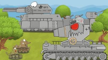 Стальной монстр Мультики про танки 2-ая серия