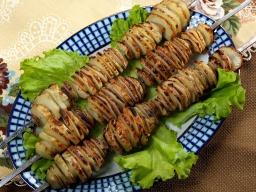 Ханкишиев Сталик: картошка-кебаб - Видео рецепт