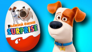 Мультики. Тайная жизнь домашних животных. Киндер Сюрприз. The Secret Life of Pets. Kinder Surprise