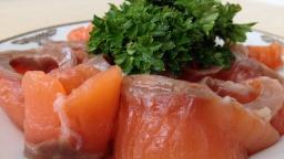 Ольга Матвей  -  Как Солить Красную Рыбу (Очень Быстро и Просто) How to Salt Salmon, English Subtitl
