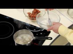 Кляр на крахмале с яичным белком для мяса по-китайски шеф-повара /  Илья Лазерсон / Обед безбрачия