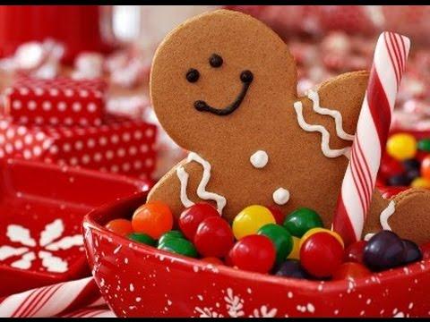 Новогодний рецепт Имбирное печенье