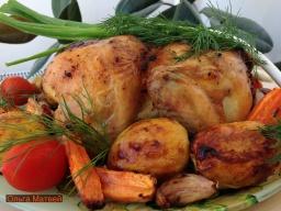 Ольга Матвей  -  Очень Вкусная Курица в Духовке | Roasted Chicken