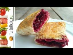 Алена Митрофанова -  Вишневые пирожки за 15 минут!