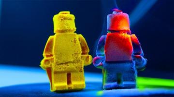 КИНЕТИЧЕСКИЙ ПЕСОК и LEGO с Aliexpress