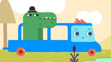 Волшебный грузовичок Пик - Важный крокодил - Мультики про машинки для детей