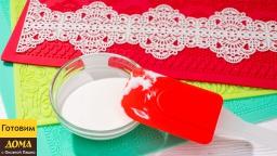 Делаем кружева для торта из гибкого айсинга в домашних условиях | Рецепт гибкого айсинга