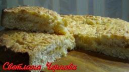 Лимонный Пирог- это Очень  Вкусно!!! /Lemon pie | Рецепт Светланы Черновой