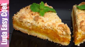 Люда Изи Кук Насыпной Тыквенный пирог Вкусный пирог с тыквой