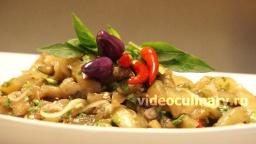 Баклажаны в пикантном соусе - Рецепт Бабушки Эммы