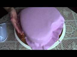 Торт сердце. Мастика