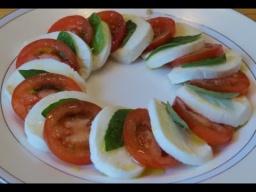 Салат Капрезе (Caprese) |Рецепт