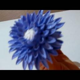 Хризантема из белкового крема | Украшения для торта | Оля Дудник