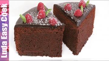 Позитивная Кухня МЕГА ШОКОЛАДНЫЙ ТОРТ Мечта ВСЕХ СЛАДКОЕЖЕК / How to Make Easy Chocolate Cake / LÀM