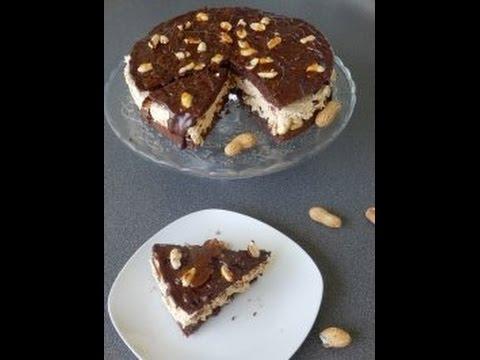 """Тонины тортики - Рецепт Торта - """"Сникерс"""""""
