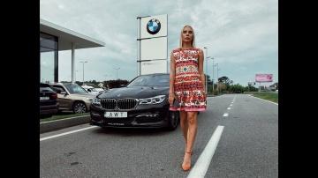BMW ALPINA B7 2016-2017 обзор сравнение с BMW M760 тест-драйв в 2018 от Елены Добровольской