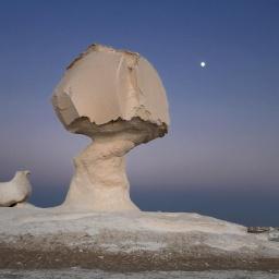 Достопримечательности Египта: Белая пустыня: Национальный египетский парк White Desert