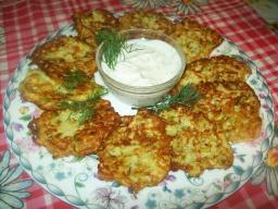 Светлана Чернова -  Самые вкусные кабачковые оладьи с творогом.