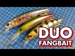 Мои новые воблеры Duo Realis Fangbait - щука берегись!