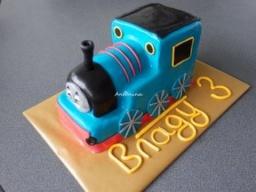 "3 D торт ""Паровозик Томас ""сборка Eisenbahn Thomas Torte"