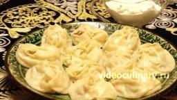 Манты с мясом и картофелем - Рецепт Бабушки Эммы
