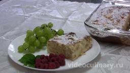 Творожная запеканка с яблоками - Рецепт Бабушки Эммы