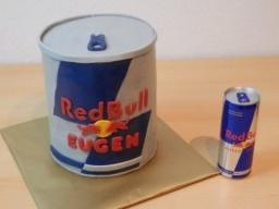 "Украшаем торт мастикой 3 д торт ""Red Bull"" Мужской торт"