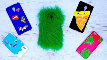 Трум Трум  14 идей чехлов для телефона своими руками