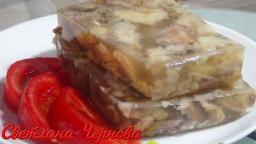 Холодец из рыбы. Очень вкусная постная закуска  /Frozen fish | Рецепт Светланы Черновой