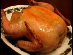 Ирина Хлебникова -  Запеченная курица с предварительной сухой засолкой |Рецепт