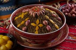 Ханкишиев Марокканский салат из шпината с солеными лимонами - Видео рецепт