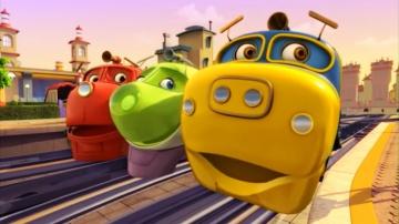 Мультфильмы про поезда - Веселые паровозики из Чаггингтона - Котел для Пита - Серия 45