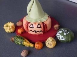 """торт """"Тыква на Хэллуин"""" морковный пирог Kürbis torte Halloween"""