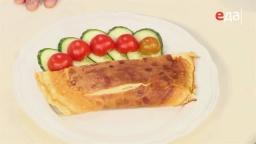 Как правильно переложить омлет на тарелку от шеф-повара /  Илья Лазерсон / Обед безбрачия