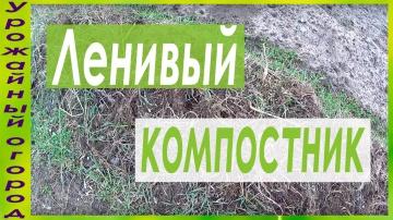 Урожайный огород ЛЕНИВАЯ КОМПОСТНАЯ ГРЯДКА!