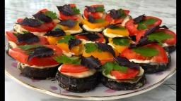 Закуска из Баклажан | Простой Рецепт
